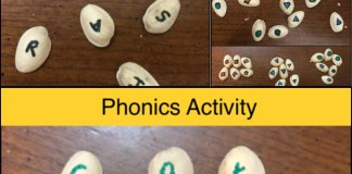 Pistachio Shell Reading Activity