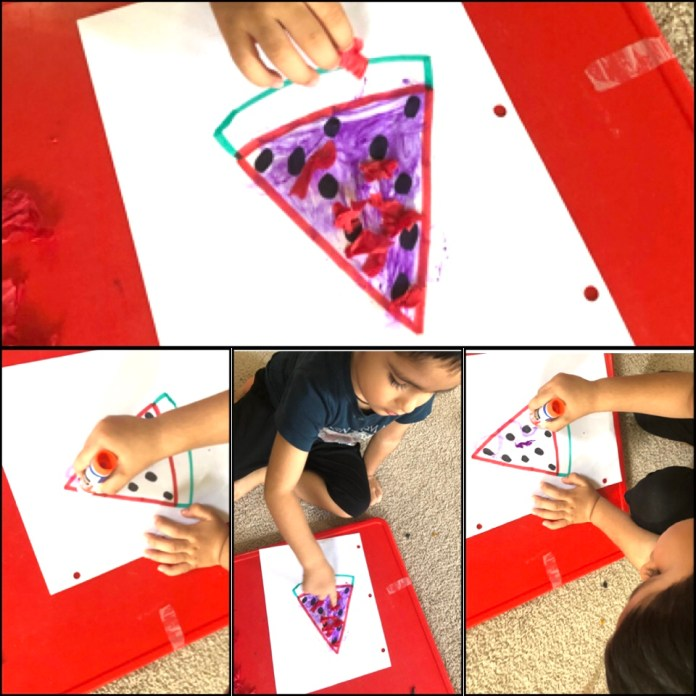 The Ripping Paper Fine motor activity