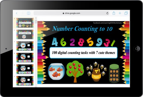 Number Counting Cover Page