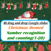 Christmas Theme Number Counting