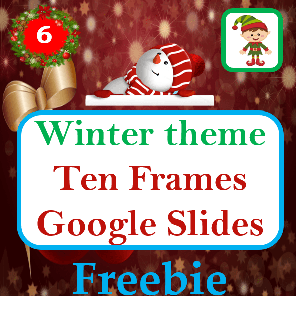 Winter Theme Ten Frame Counting