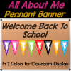 All About Me Pennant FREE