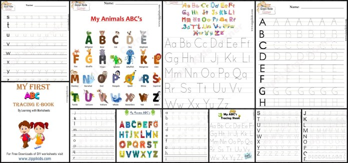 Letter / Alphabet Tracing