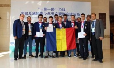 11 medalii pentru România la Olimpiada de Astronomie si Astrofizica Beijing 2018
