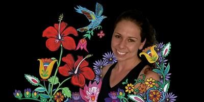 Amanda in Flowers