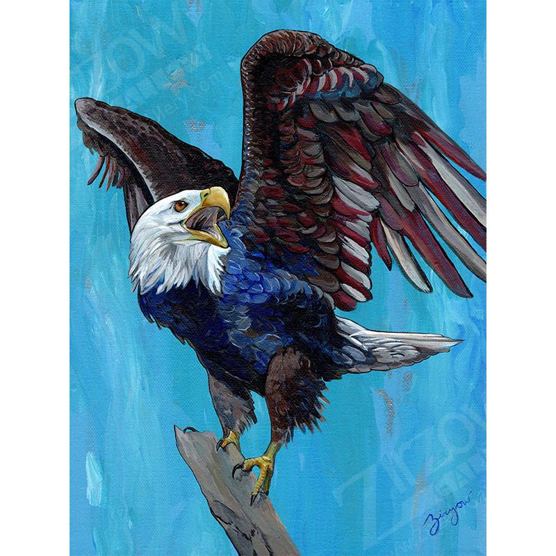Old Glory Eagle