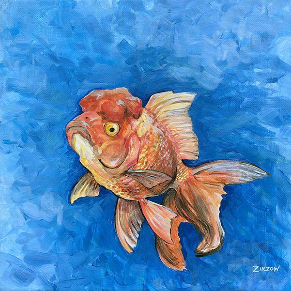 Bubbles the Goldfish