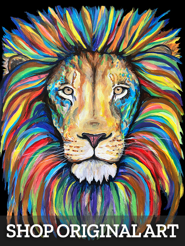 Lion Original Artwork
