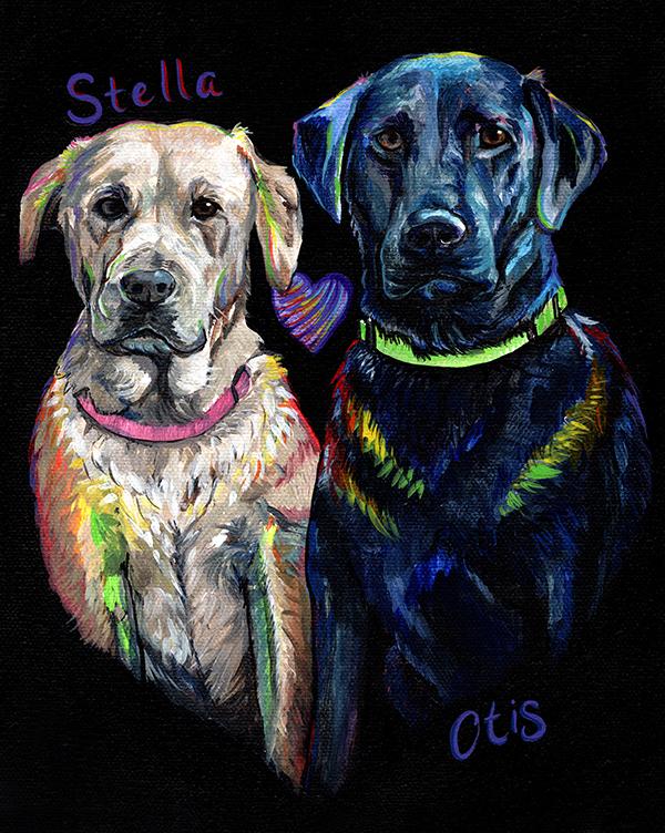 Stella and Otis