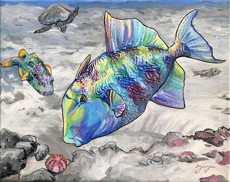 The Triggerfish and the Puffer