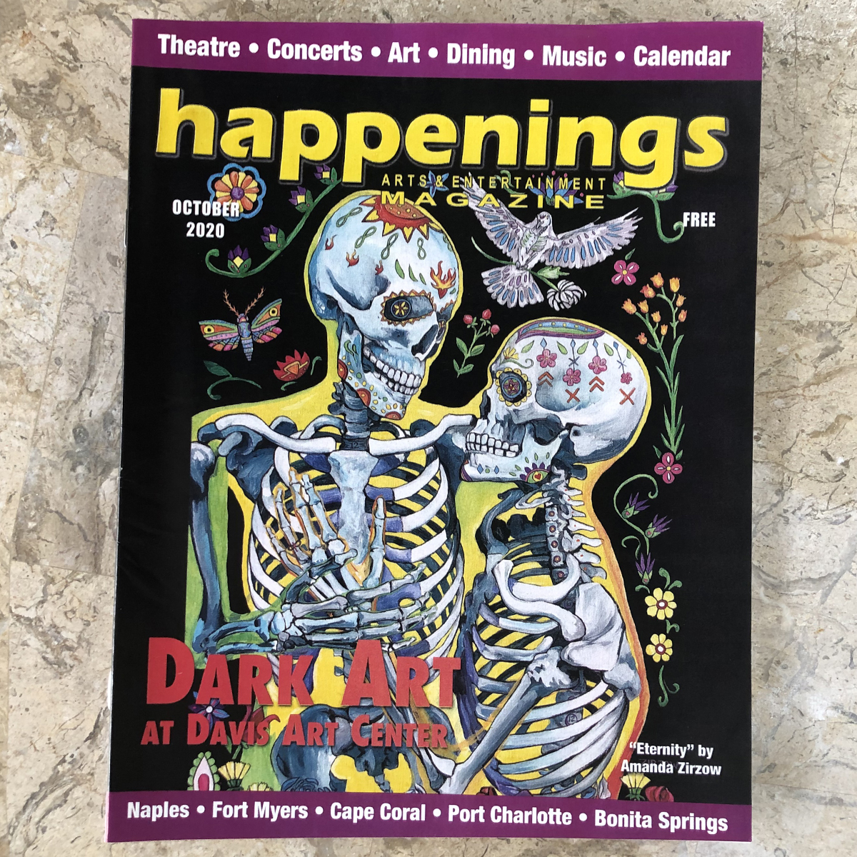 Amanda Zirzow Art Featured on Happenings Magazine
