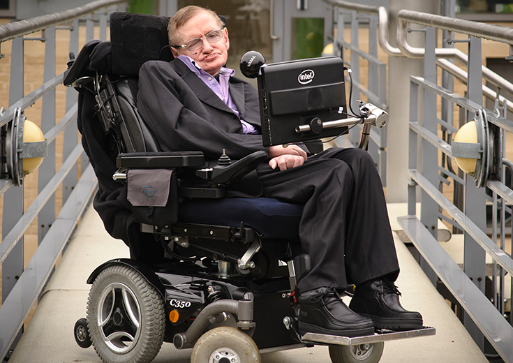 Stephen Hawking: Look Beyond Physical Limitations!