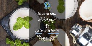 Receta de Aderezo de Coco y Menta