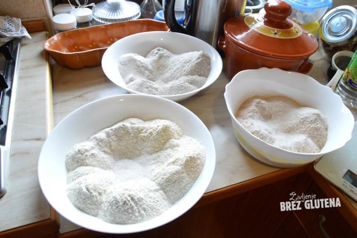brezglutenski kvinojin kruh z indijskim trpotcem 1