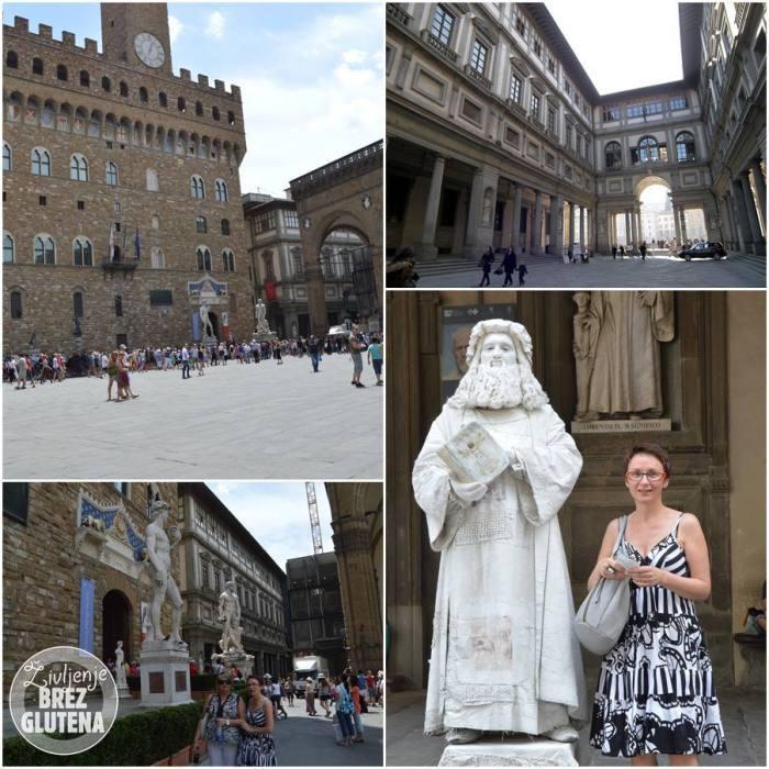 galerija uffizi celiakaš v Firencah