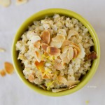 Superfood Breakfast: Creamy Coconut Bulgur With Lemon And Poppy Seed
