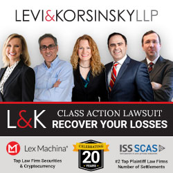 Levi & Korsinsky Securities Class Action Law Firm
