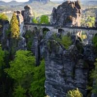 Saksońska Szwajcaria - Bastei i twierdza Königstein