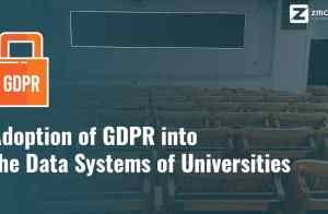 Adoption of GDPR into the data systems of universities