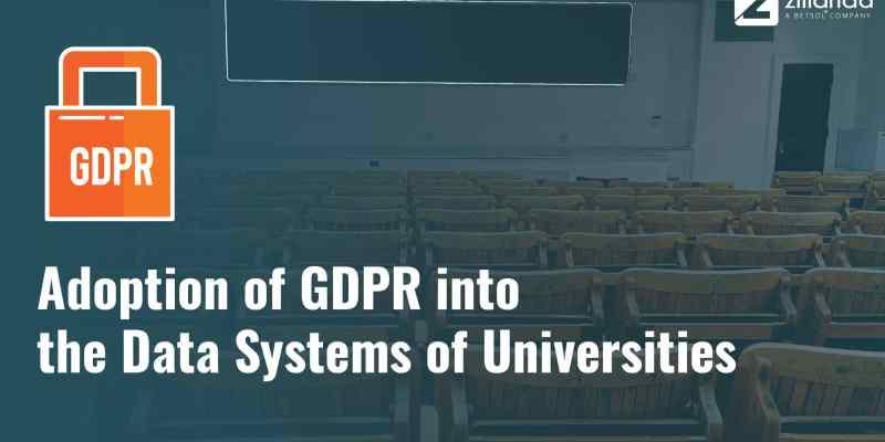 Przyjęcie RODO do systemów danych uczelni