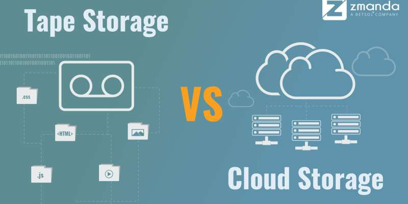 Cloud Storage vs. Tape Storage - The Pros and Cons