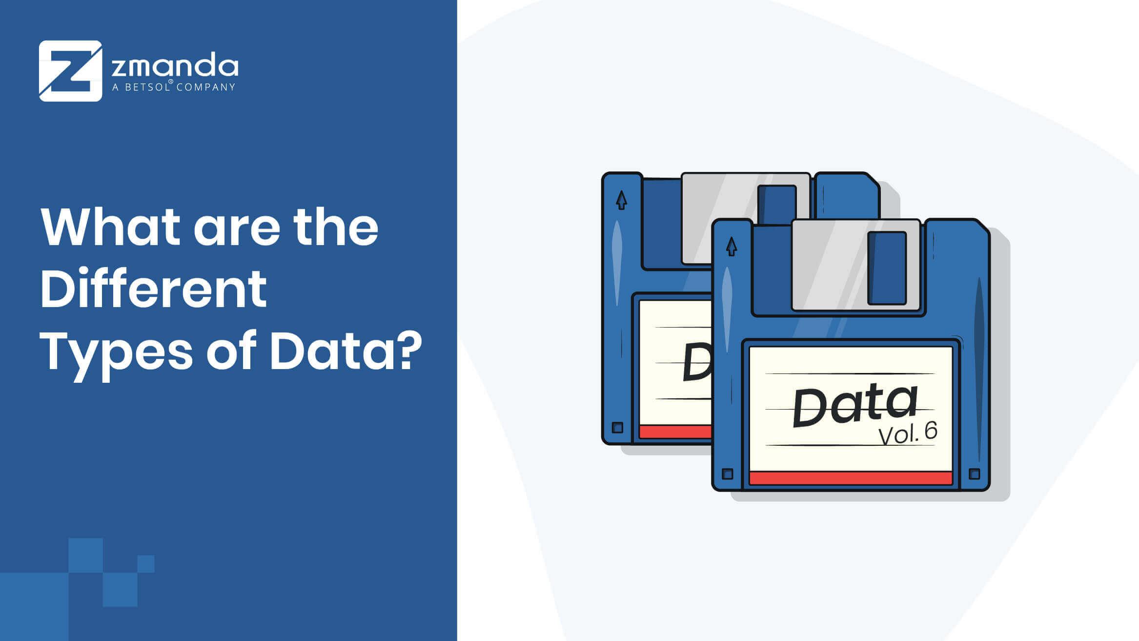 비즈니스 용 데이터 유형에는 어떤 것이 있습니까?
