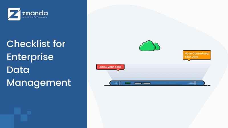 Top Checklist for Enterprise Data Management 2020