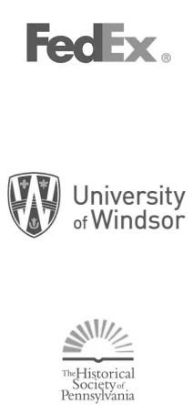 FedEx | Unversity of Windsor | The Historical Society Of Pennsylvania | Zmanda