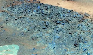 False colour image of Greeley Haven taken by Opportunity. Credit: NASA/JPL-Caltech/Cornell/Arizona State Univ