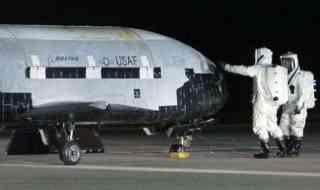 X-37 B secret US Air Force space plane