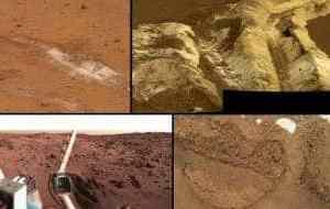 An assortment of various Martian soils. (c) NASA