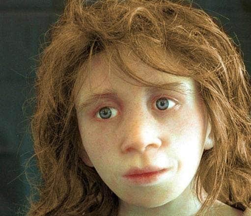 neanderthal kid