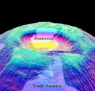 ozone layer antarctica