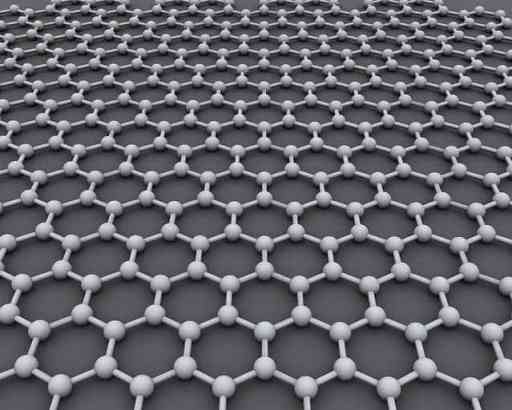 Graphene - a one atom thick layer of carbon. photo credit: CORE-Materials