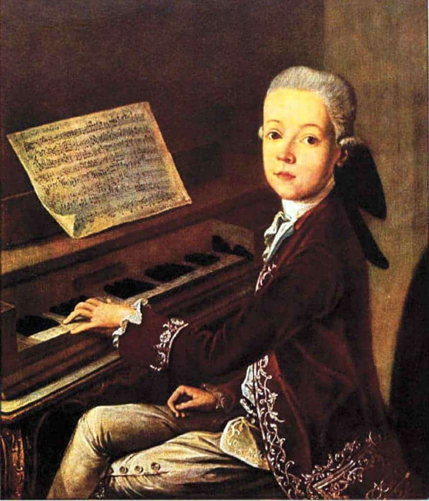 Young Mozart.