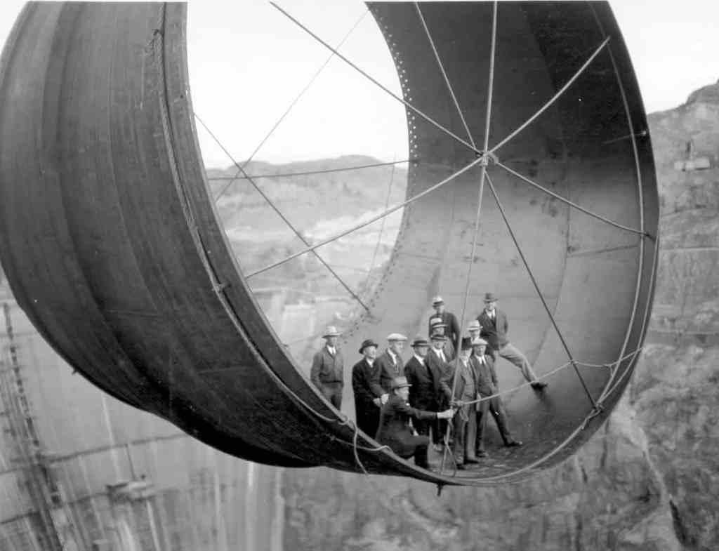 hoover dam penstock