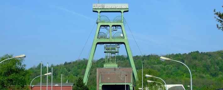 The mine near the city of North-Rhine Westphalia. Credit: Wikimedia Commons.