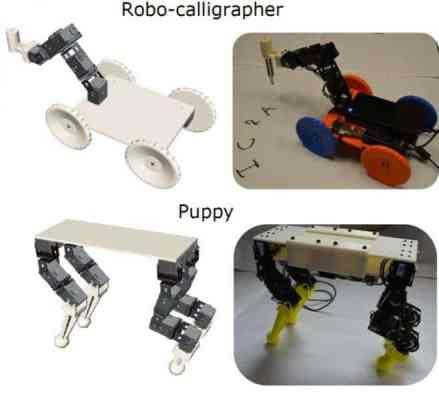 Prototype robots.
