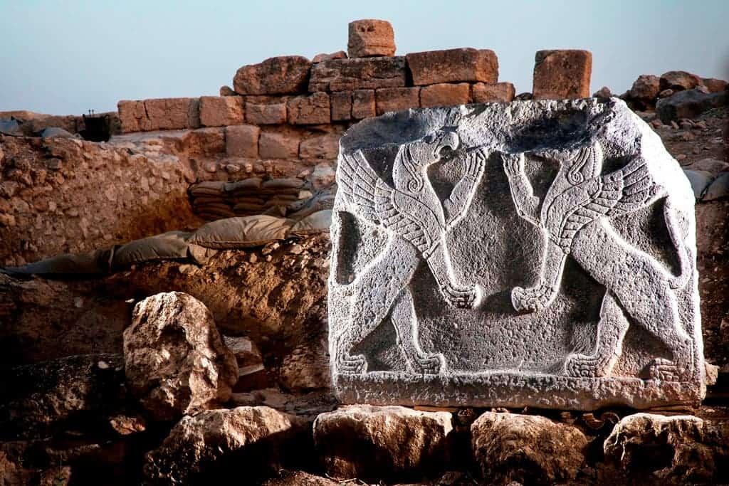 Gryphon stone.