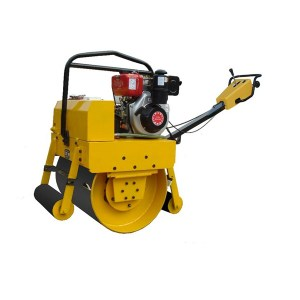 Manual Vibratory Single Drum Roller Compactor Machine