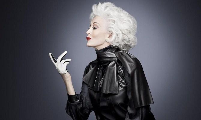 Top modelka – Carmen Dell'Orefice ma 83 lata i nadal pracuje w zawodzie