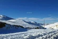 صورة إليكم الطرقات الجبلية المقطوعة بسبب الثلوج