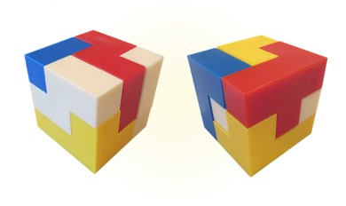 12 Piece Wooden Block Puzzle Cube Solution | Wooden Thing