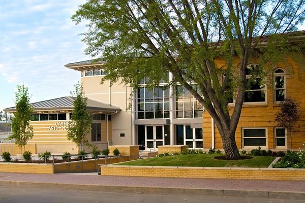The Carnegie Arts Center in Turlock, California.