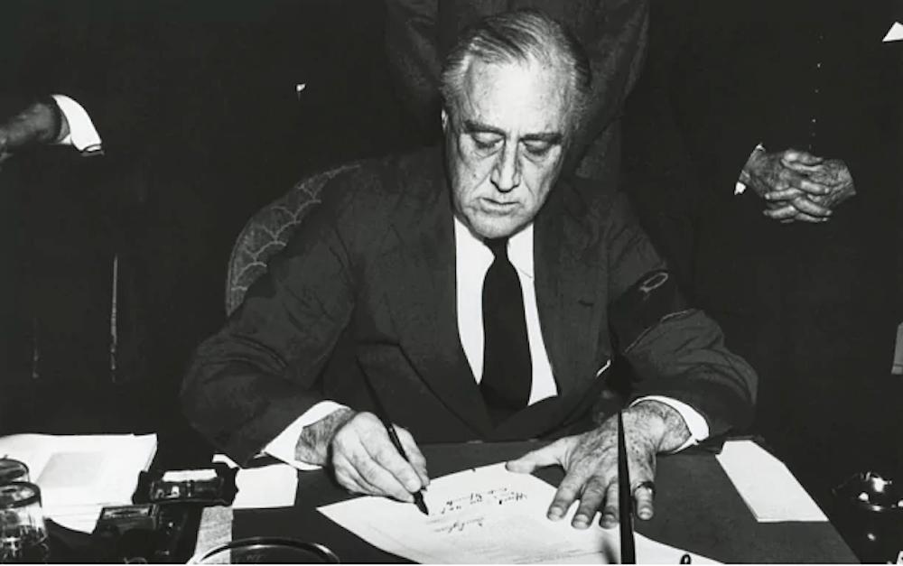 Resultado de imagen para foto de Franklin D. Roosevelt