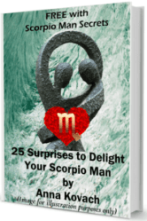 how to get a scorpio man to like you