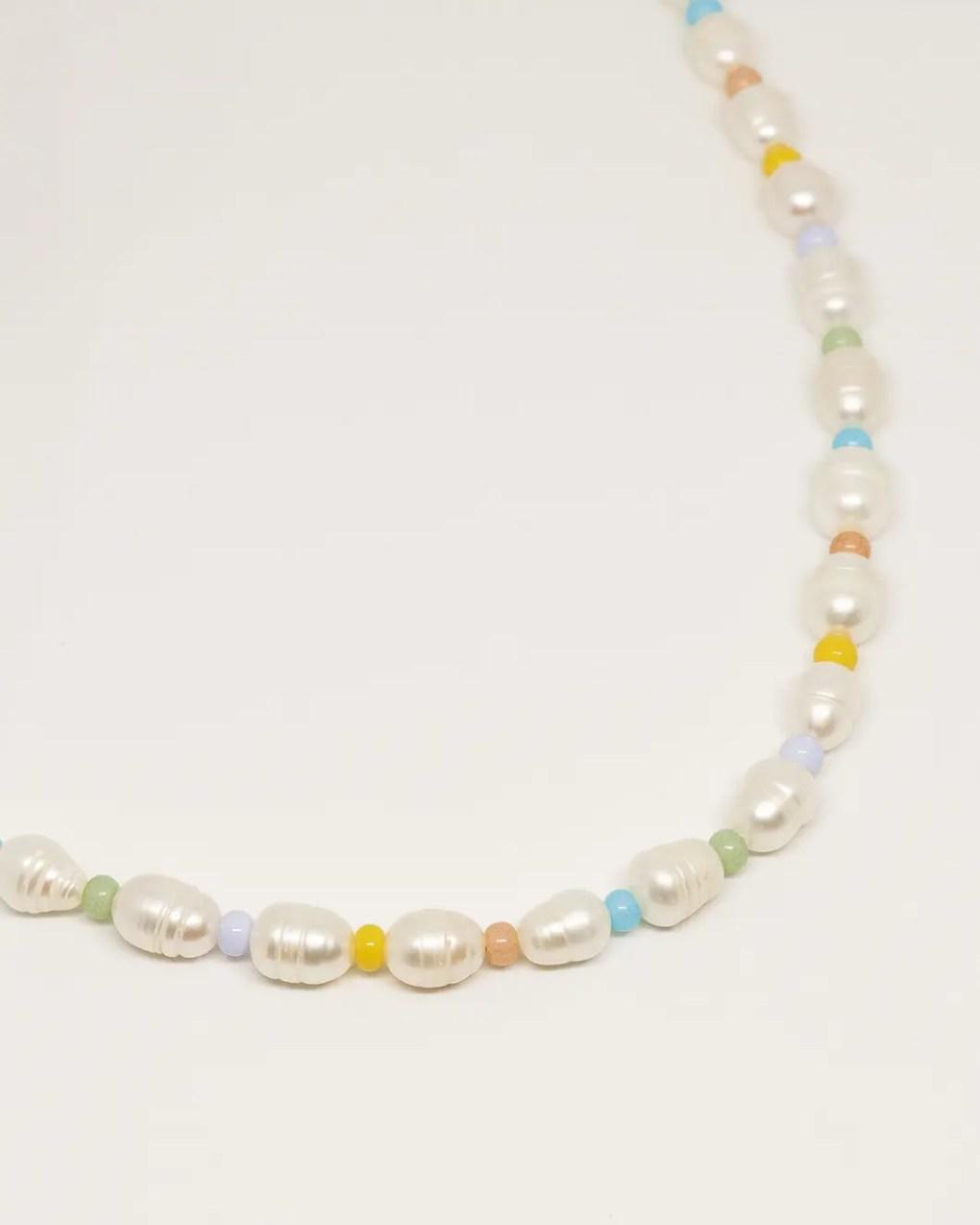 collier perles de culture rocailles colore suzie zodiacijewelry 001