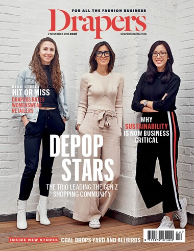drapers magazine cover women