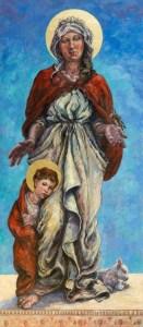 'St Breaca Madonna'.
