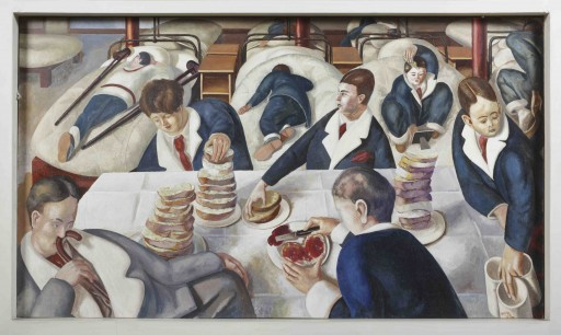 Stanley Spencer tea in the Hospital Ward,zoe cameron blog